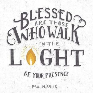 Blessed Are Those Who Walk
